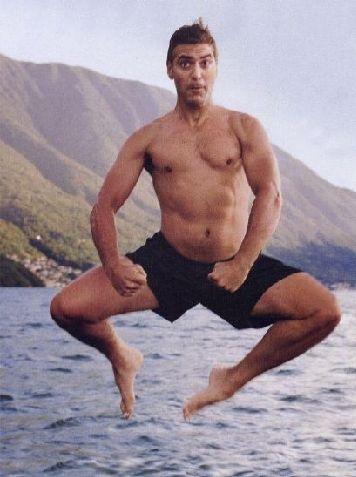 George Clooney  Ünlü oyuncular Renee Zellweger ve Mariella Frostrup ile aşk yaşadı.